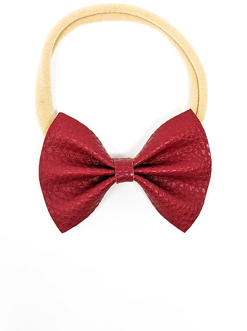 Cherry Bow - Bootums Bows