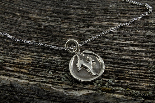 Deer Totem Necklace - Mackenzie Jones