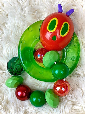 Very Hungry Caterpillar (red/green)