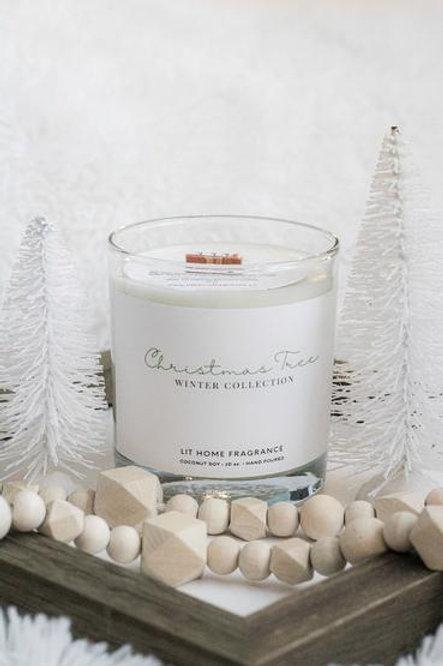 Christmas Tree Candle - Lit Home Fragrance