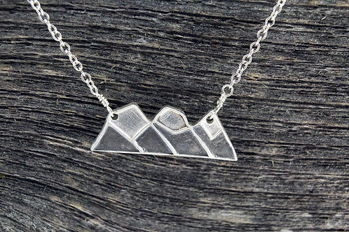 Three Sisters Mountain Necklace - Mackenzie Jones
