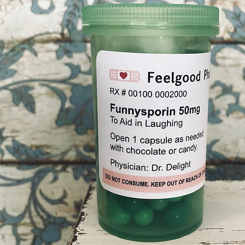 Funnysporin / Message In A Bottle - Remedy Medicine For The Soul