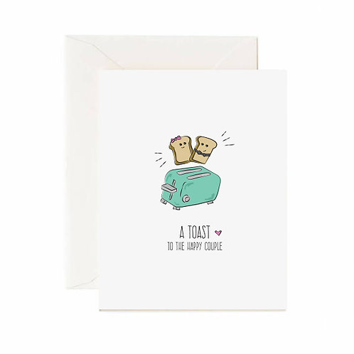 A Toast Card - Jaybee Design