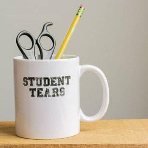 Student Tears Mug - Morse Code Love Prints