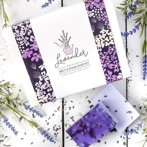 Lavender Melt & Pour Kit - Fizzy Funtastics