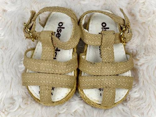 Girls Sandals, Size 0-3M