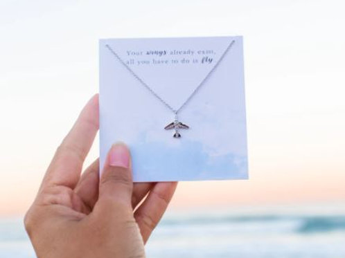 Airplane Necklace  - Miandu Forever