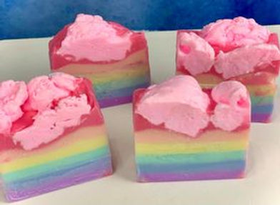 Rainbow Cotton Candy Soap (large)