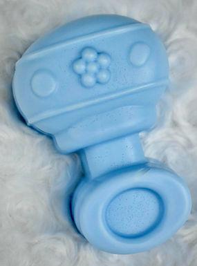 13. Shea Butter Blue Rattle
