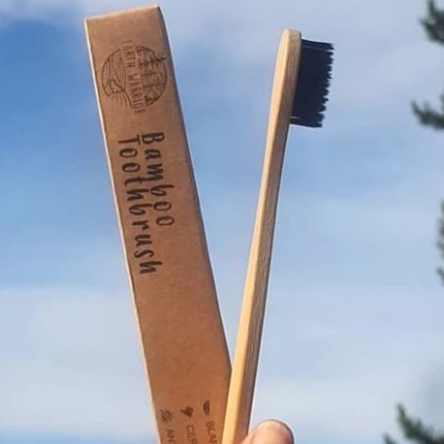 Bamboo Toothbrush - Earth Warrior Lifestyle