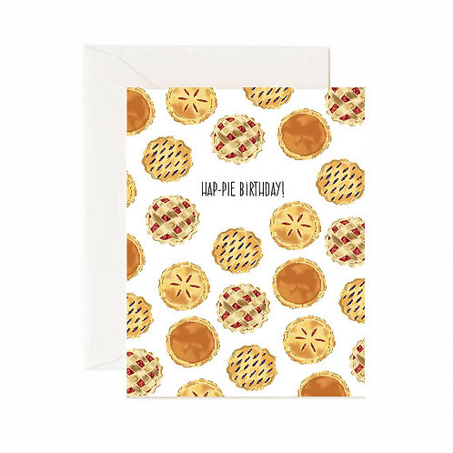 Hap-Pie Birthday Card - Jaybee Design