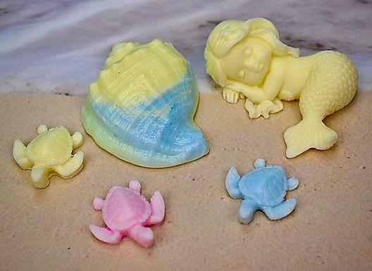 Yellow Mermaid Gift Set