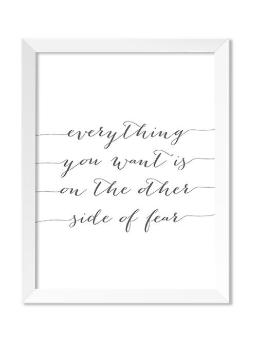 Everything You Want 8x10 Print - IM Paper Co