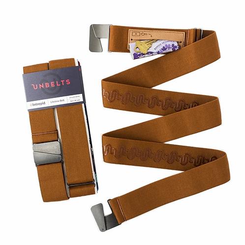 Cognac Intrepid Belt - Unbelts