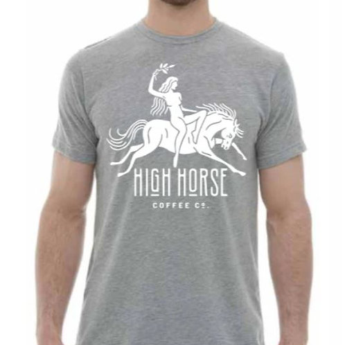 Mens Priestess Tee- High Horse Coffee
