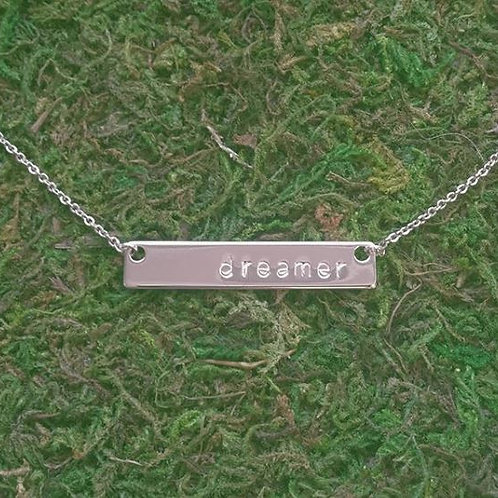 CUSTOM Hand Stamped Necklace - TMK Collection