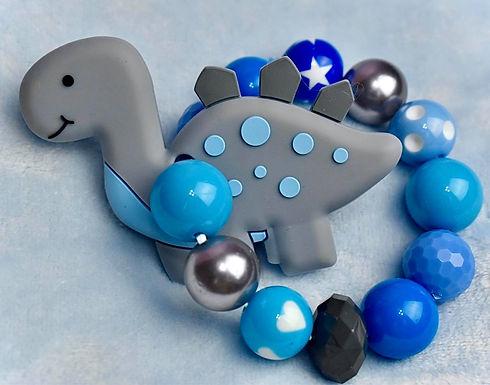 Blue/Gray Dinosaur