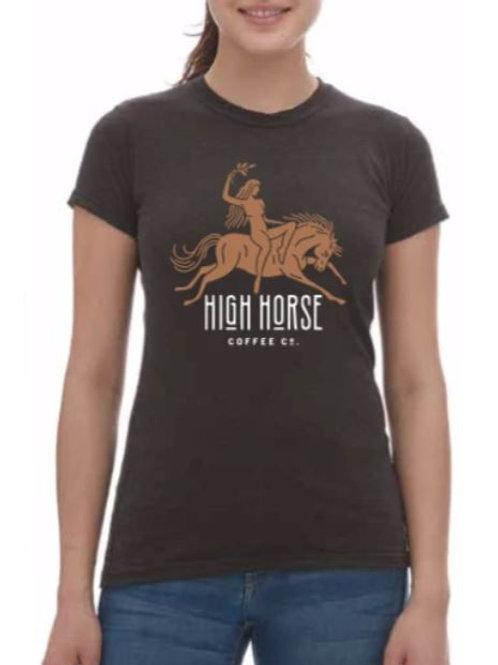 Ladies Priestess Tee- High Horse Coffee Co