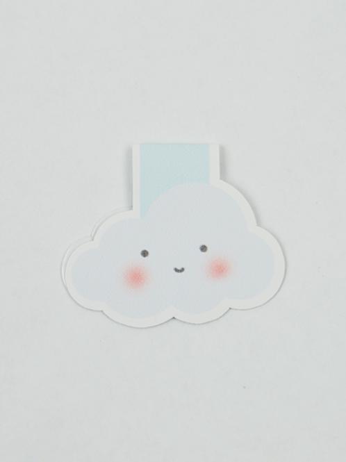Cloud - Magnetic Bookmark - IM Paper
