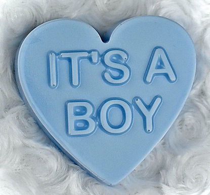 14. It's A Boy Shea Butter Heart