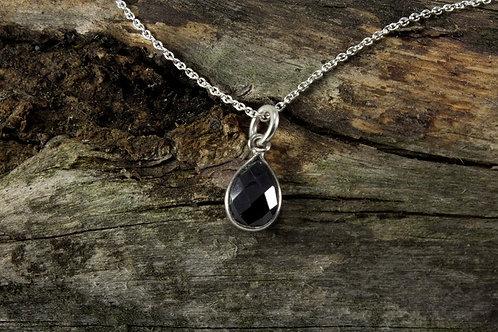 Onyx Stone Necklace - Mackenzie Jones