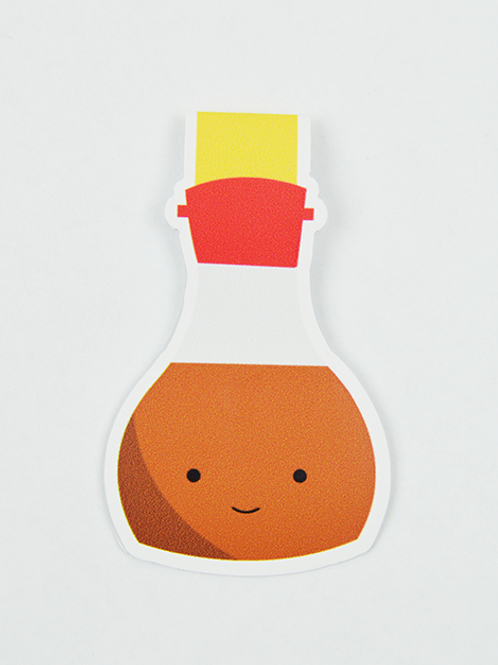 Soy Sauce -Magnetic Bookmark - IM Paper