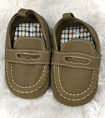 Boys Loafers, Size 1
