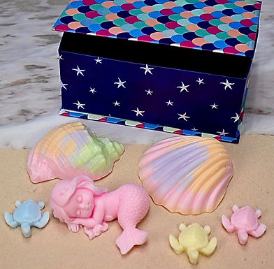 Large Pink Mermaid Gift Set