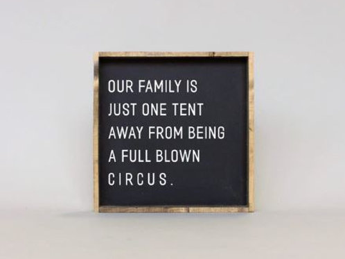 Our Family Is 13x13 - William Rae Designs