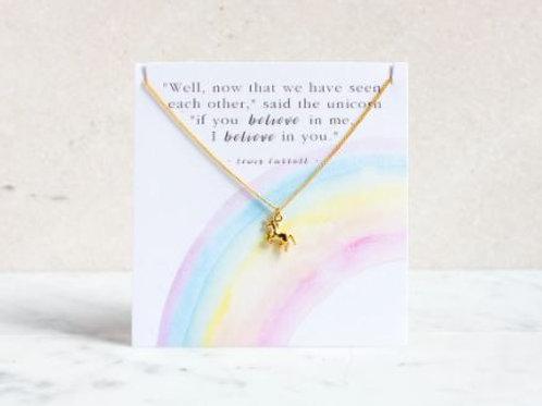 Unicorn Necklace  - Miandu Forever