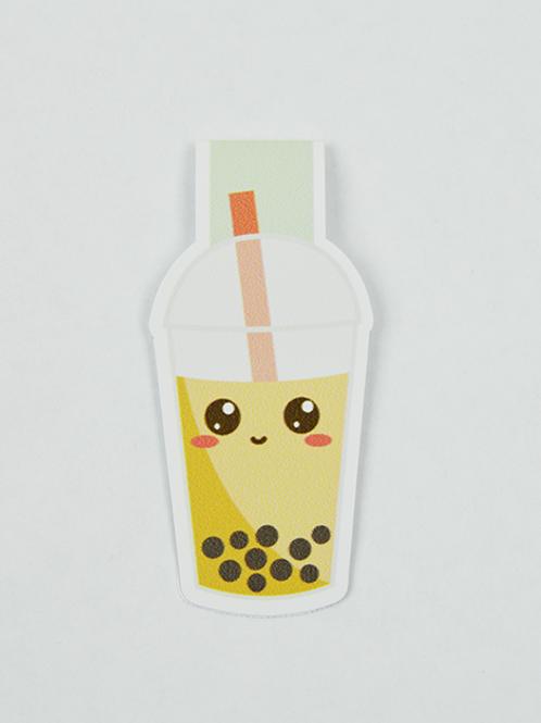 Bubble Tea - Magnetic Bookmark - IM Paper