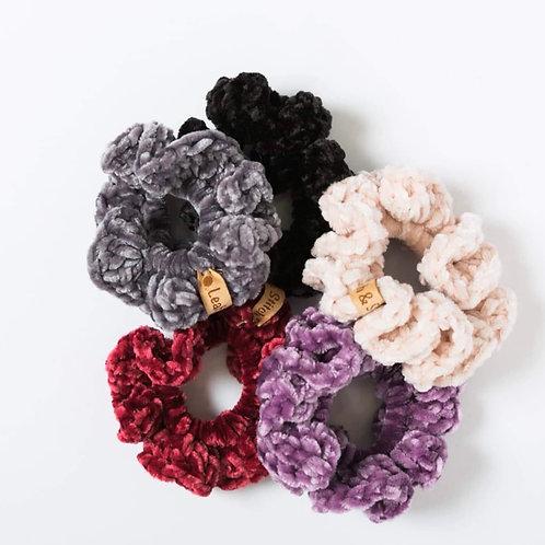 Velvet Scrunchie - Leah & Stitch