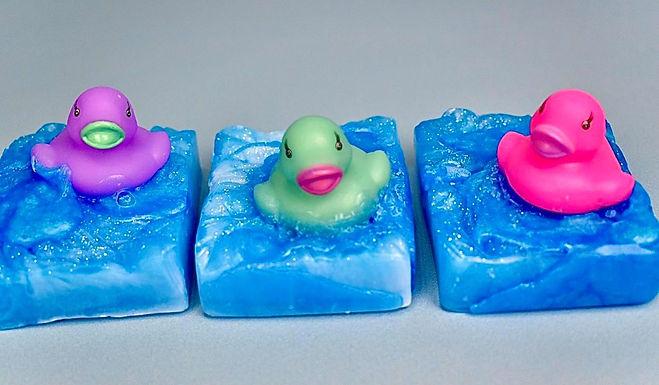 Spring Ducky Soap