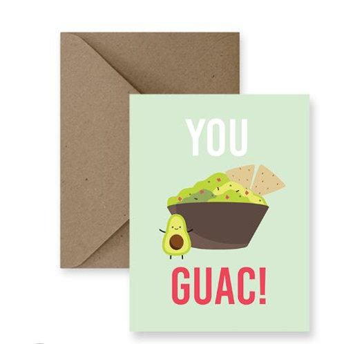 You Guac Card  - IM Paper