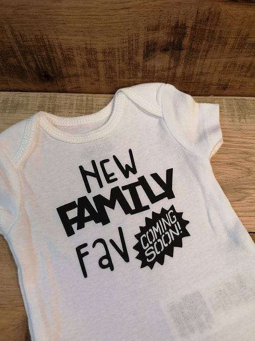 New Family Fav Onesie - All Decked Out Events