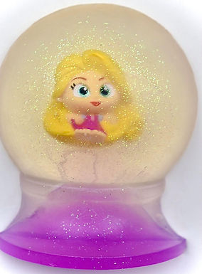 Doorable Rapunzel Large Snow Globe