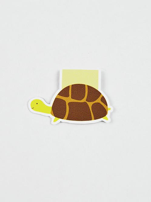 Turtle -Magnetic Bookmark - IM Paper