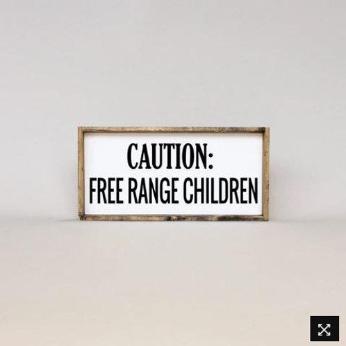 Caution 8x7 - William Rae Designs