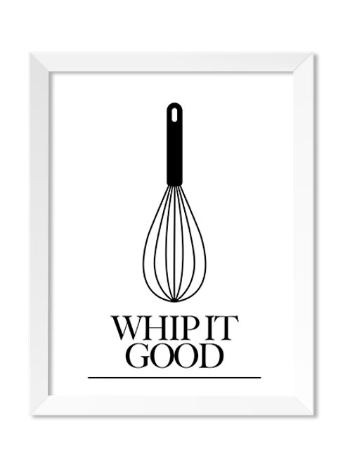 Whip It Good 8x10 Print - IM Paper Co