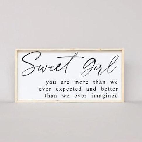 Sweet Girl 12x25 - William Rae Designs