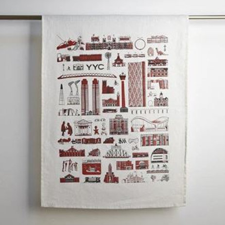 Calgary Tea Towels - Fine Mesh
