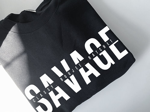 'Savage' Sweater - Zen Lion Design