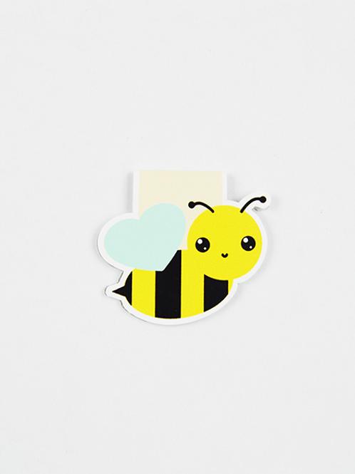 Bee - Magnetic Bookmark - IM Paper