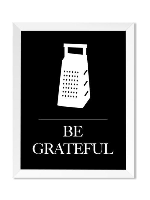 Be Grateful 8x10 Print - IM Paper Co