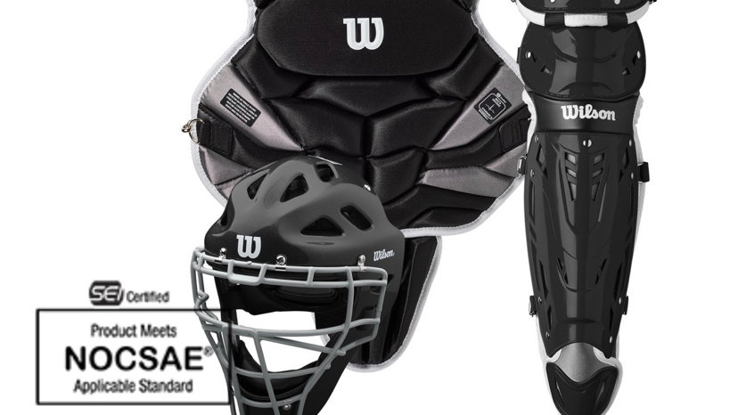 WILSON C1K CATCHER'S GEAR KIT - INTERMEDIATE