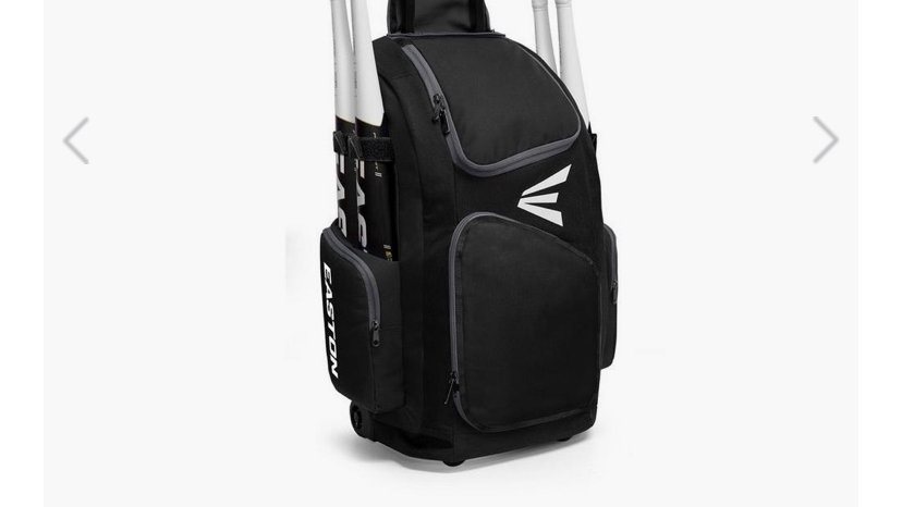 EASTON WHEELED BAG TRAVELER STAND UP