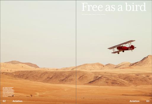 Travel Air Namibia for SWISS Magazine