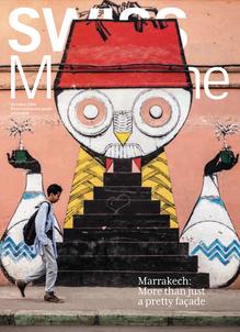 Marrakech for SWISS Magazine