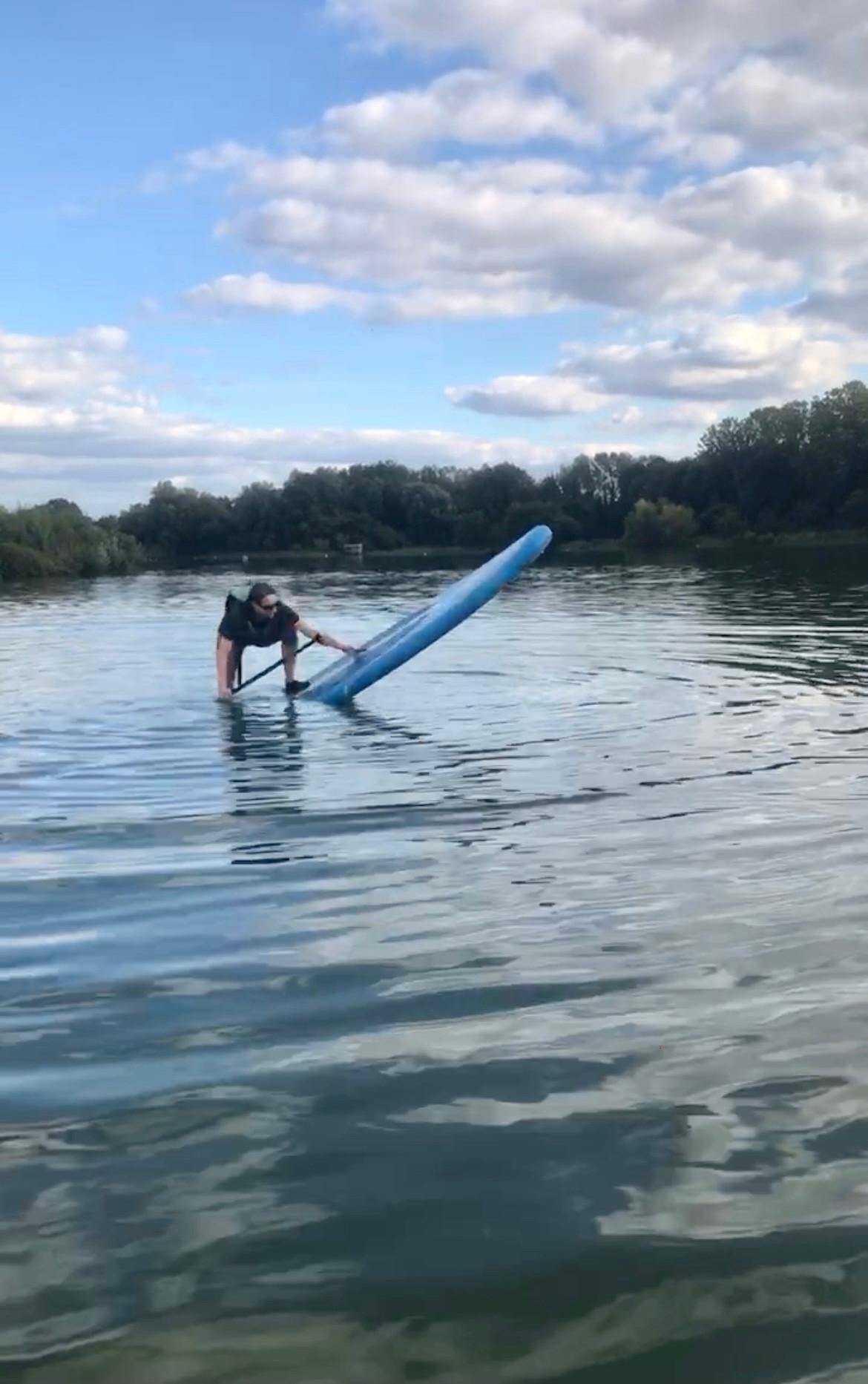 End of season SUPper Club Splish-splash!