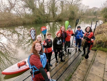Red-y, Set, Paddle for RED January